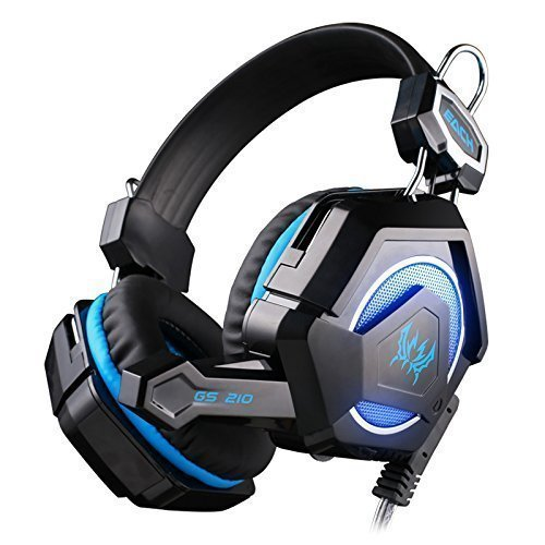 Each GS210 Stereo Gaming Headphones Headset Headband with Mi