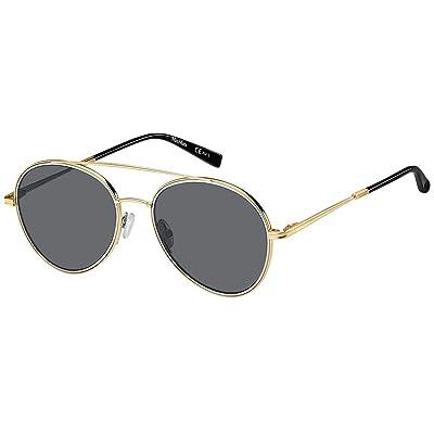 Max Mara WIRE II - Gafas de sol para mujer Gold Black/Gy Grey Talla única: Ropa y accesorios