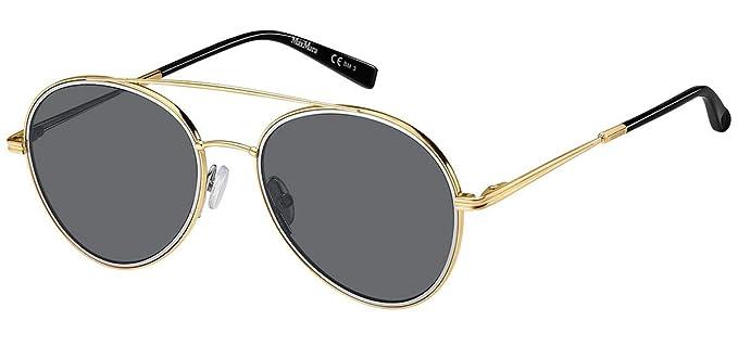 Max Mara WIRE II - Gafas de sol para mujer Gold Black/Gy ...