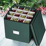 ProPik Holiday Ornament Storage Box Chest, 4 Tier