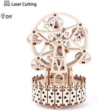 [해외]3D Wooden Puzzle Wooden Mechanical Model Music Ferris WheelBrain Teaser DIY Model Building KitsModel Building DIY Age14+ Toys / 3D Wooden Puzzle, Wooden Mechanical Model Music Ferris Wheel,Brain Teaser DIY Model Building Kits,Model...