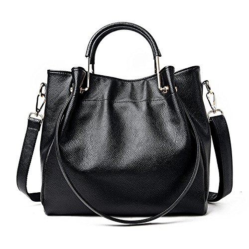 Lady Gwqgz New Casual Handbag Black qqvxYPw