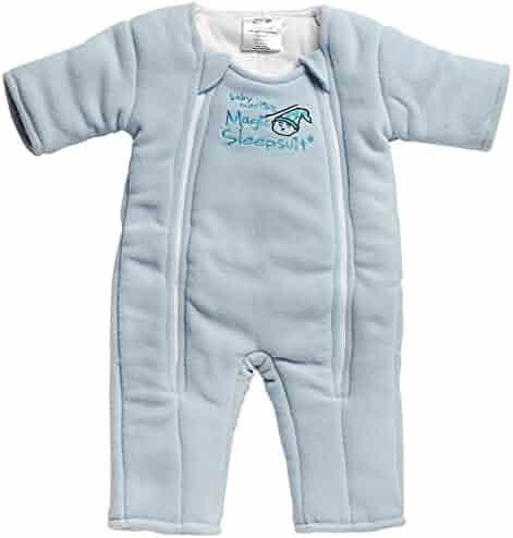 Baby Merlin's Magic Sleepsuit Microfleece - Blue - 3-6 months