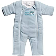 Baby Merlin's Magic Sleepsuit Microfleece - Blue - 3-6 months