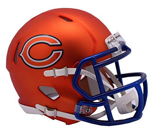 NFL Chicago Bears Riddell Alternate Blaze Speed Full Size Replica Helmet by Riddell
