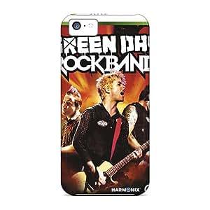 Iphone 5c SII18379hZty Provide Private Custom HD Green Day Band Series Anti-Scratch Hard Phone Case -AlainTanielian