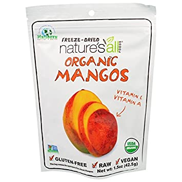 Organic Mangos Raw Dried Fruit 1.50 Ounces (Case of 12)