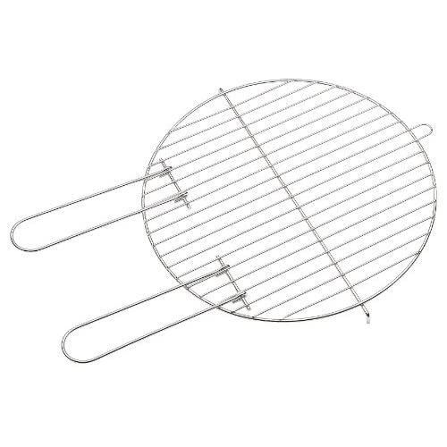 51EvZmspAJL. SS500  - barbecook® 40 cm Diameter Cooking Grid - Silver