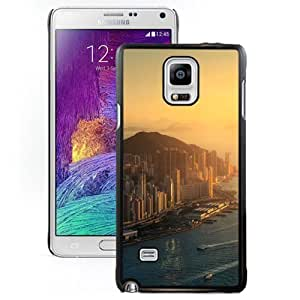 DIY and Fashionable Cell Phone Case Design with Hong Kong Sunrise Galaxy Note 4 Wallpaper