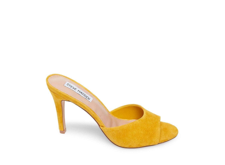 Yellow Suede Steve Madden Women's Erin Pump