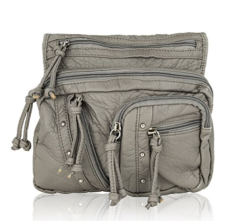 Crossbody Farrow Bag Mia Shoulder Travelocity by MKF K Grey Collection RnfqAxgwE