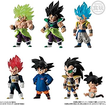 Dragon Ball Z DBZ Ultimate Soldiers Adverge 9 Broly Blue Gogeta ...
