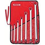 Stanley Proto J1100R 7 Piece 12 Point Box Wrench Set