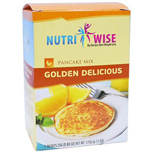 NutriWise - Golden Delicious Protein Diet Pancake Mix - Food Products Bariatric