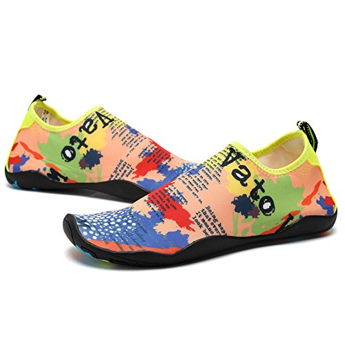 a5c851196c5c new CIOR Men and Women s Barefoot Quick-Dry Water Sports Aqua Shoes with 14  Drainage