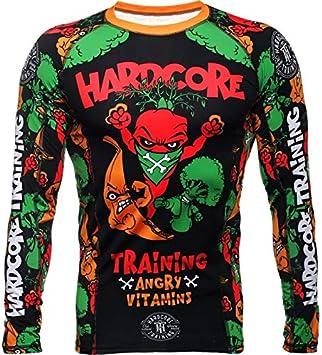 For Men MMA BJJ UFC Hardcore Training T-Shirt PitbullCity