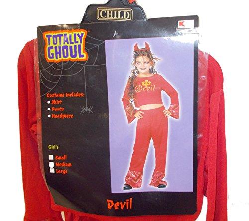 Red Devil Diva Costume Dress-up NWT -