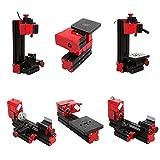 6 in 1 mini multipurpose machine - 6 in 1 Metal Mini Multipurpose Machine DIY Power Tool Lathe Drilling Milling Kit by Vinmax