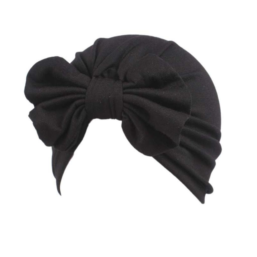 Sombrero de ni/ños Baby Scarf Chicas Turbante Linda S/ólido Calentar Oto/ño Invierno Boho Gorro Envoltura de la cabeza Gorra LMMVP Rojo, Tama/ño libre