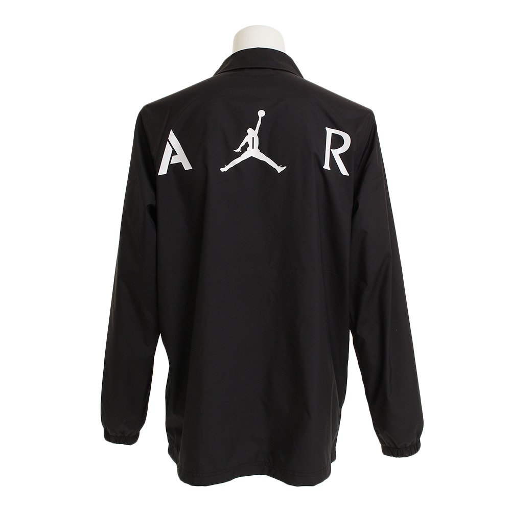 4744669c4a6 Amazon.com: Nike Jordan Jumpman Coaches Men's Jacket (Black, Large):  Clothing