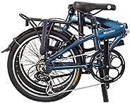 "Wonder-8-SP - SOLOROCK 20"" 8 Speed Aluminum Folding Bike - Disc B"
