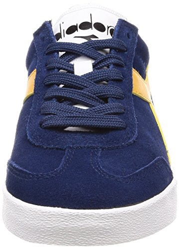 Diadora Men's B.Original Vlz Gymnastics Shoes Blue (Blu Estate Sole) dpowPMB