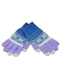 Korean Version Autumn And Winter Warm Gloves Touch Screen Wool,4