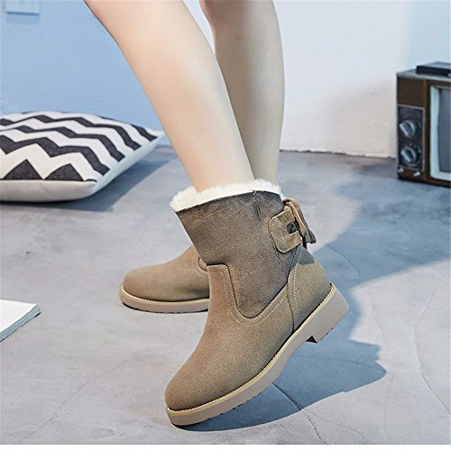Boots Sand Martin HXVU56546 Boots Thick And Boots New color Winter Autumn Shoes Warm Women Snow Cotton nw6A06Yq