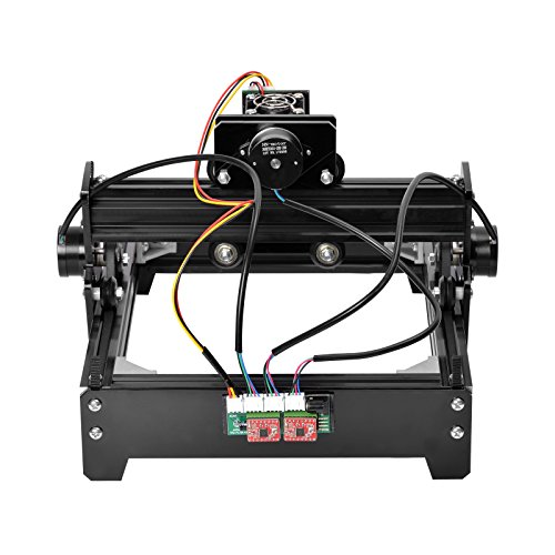 SHUOGOU 15W Laser Engraving, High Speed Mini Laser Carving Machine Engraver, Portable Household Art Craft DIY Laser Engraver Printer, Mini Cutter Carving Machines with Protective Glasses by SHUOGOU (Image #3)
