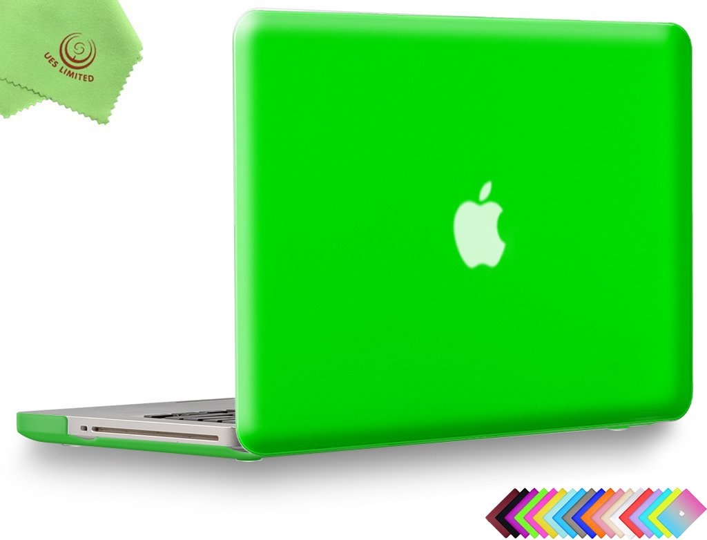 + Microfibre Cleaning Cloth,Nebula//Green Model:A1278 UESWILL Galaxy Pattern Hard Shell Case Cover for MacBook Pro 13 Non-Retina
