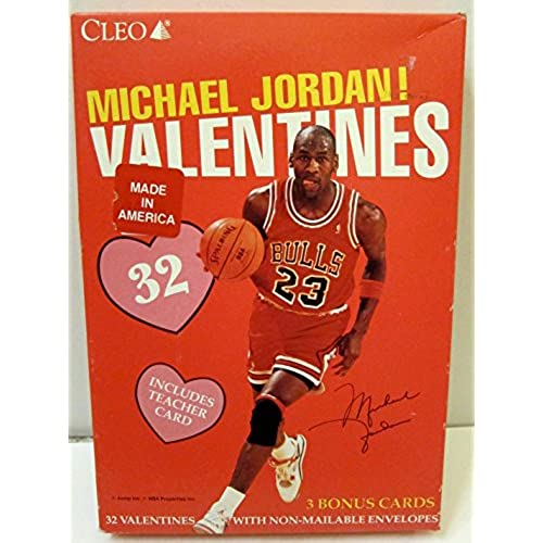 Michael Jordan Valentine's Day Cards Sales