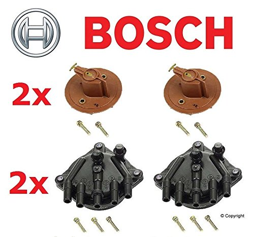 Set of BOSCH 2x Cap's & 2x Rotor's for Lexus LS400 & SC400 -