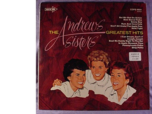 - The Andrews Sisters Very Nice Germany Press Stereo Lp - The Andrews Sisters Greatest Hits - Coral Records Mid 1960s