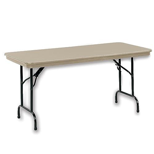KI DuraLite Folding Table – 96×30 – Sand