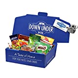 Australian Classics Gift Box - Tim Tam, Vegemite, Milo, Twisties, Tiny Teddies, Caramello Koala, ANZAC Biscuit, Eucalyptus Drops, Fantales & Minties by Down Under Box