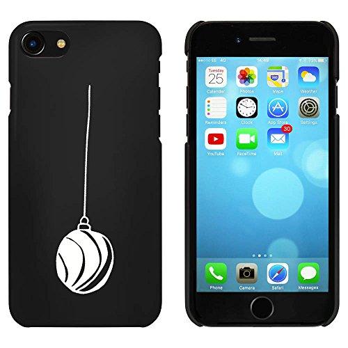 Noir 'Boule de Noël' étui / housse pour iPhone 7 (MC00066389)