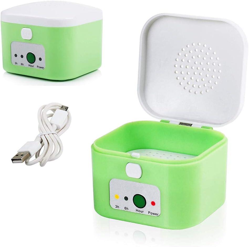 SUN RDPP Audífonos Secador Deshumidificador Caja de Secado Caja Caja Seca Temporizador de 3/6 Horas Proteja los audífonos: Amazon.es: Deportes y aire libre