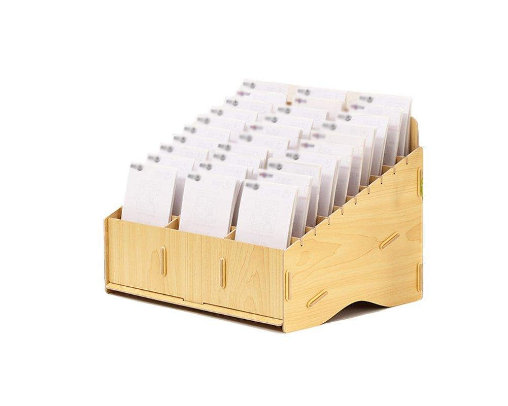 LXJ Office Desktop Organizer Office Supplies Large Capacity Storage Box Holder Cash Storage Box Office Home School (#1)