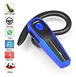 eGe Bluetooth headset, Hands Free Wireless Earpiece w/Mic for Office/Business/Conference/Driving/Leisure/Work out