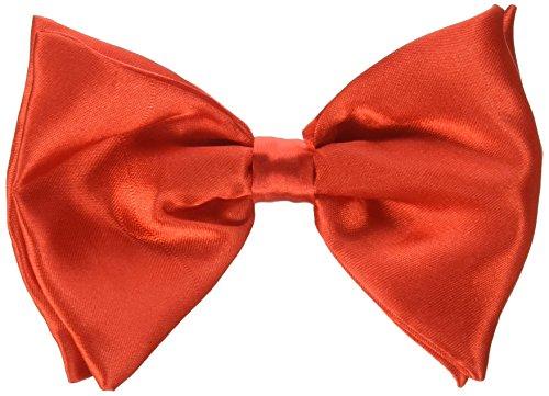 [Forum Novelties 214347 Clip on Bowtie - Red] (Heavyweights Halloween Costume)