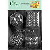 Cybrtrayd 4-Shape Massage Bar Soap Mold