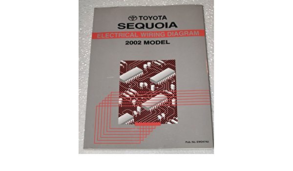 2002 Toyota Sequoia Electrical Wiring Diagrams Uck35 Uck45 Series Toyota Amazon Com Books