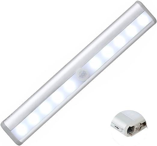 Détecteur de mouvement DEL Stick Nuit mur lumière couloir sans fil à batterie
