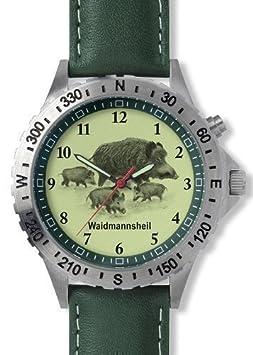 Greiner 1209-R Armbanduhr Rotte Wildschweine