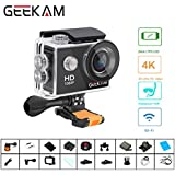 Waterproof Sports Camera Wifi 1080P HD 10fps 12MP 170 Degree Wide Angle