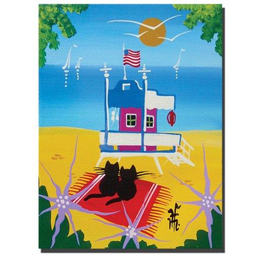 trademark-fine-art-the-beach-by-herbert-hofer-canvas-wall-art-18x24-inch