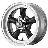 American Racing Custom Wheels VN105 Torq Thrust D Satin Black Wheel With Machined Lip (15x8.5''/5x120.7mm, -25mm offset)