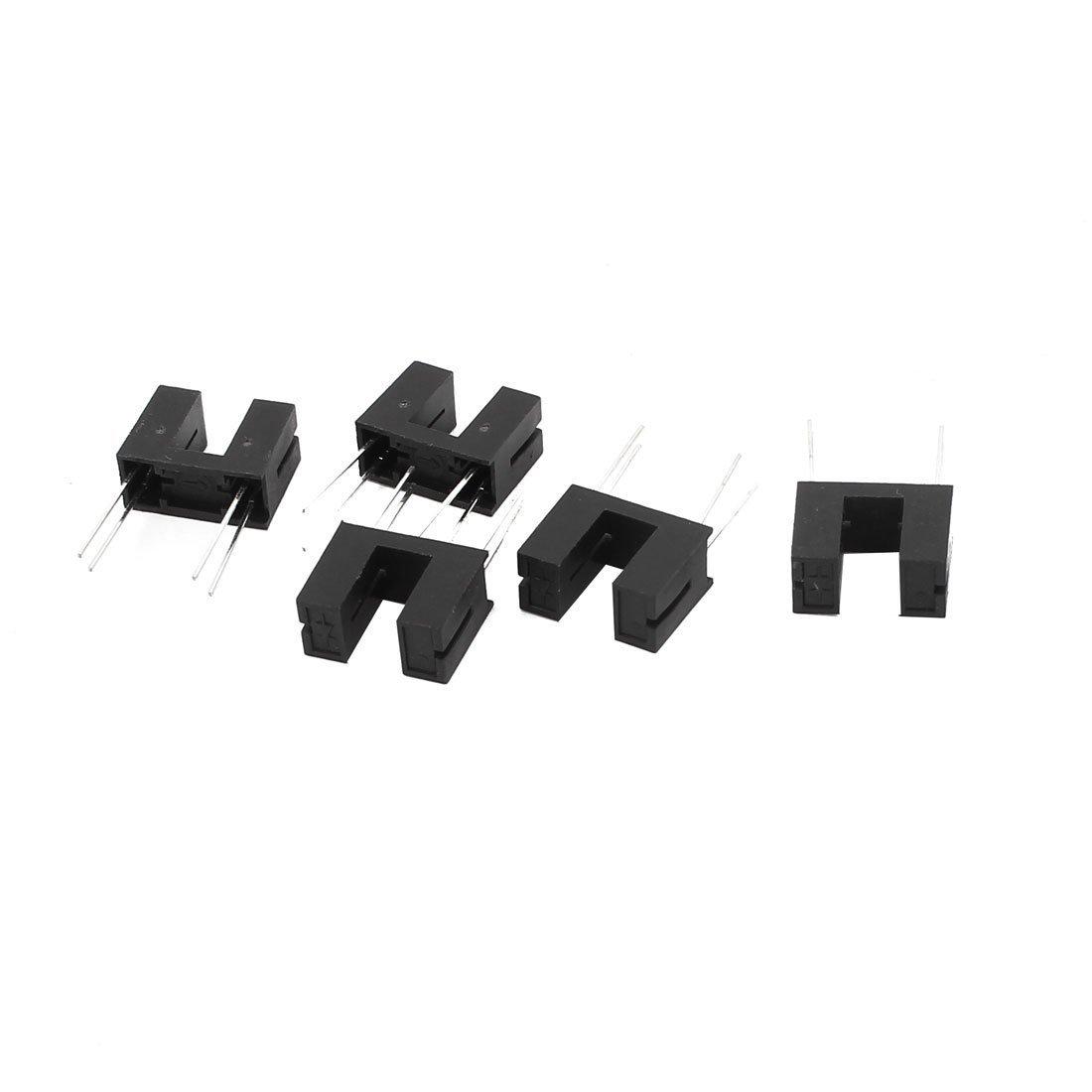 5 Pcs Itr9608 Itr 9608 4 Dip Switch Pin Opto Mm Slotted Diy Tools