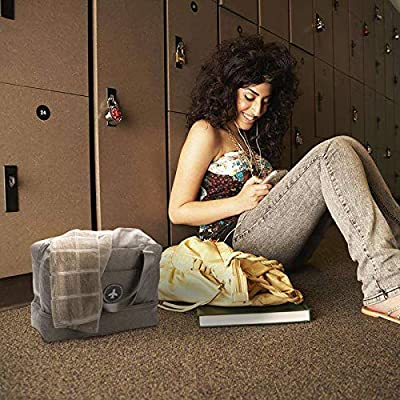 85730fc1b225 ... HOKEMP Waterproof Gym Bag with Shoe Compartment Swim Bag Travel  Weekender Dry Wet Depart Mesh Tote ...