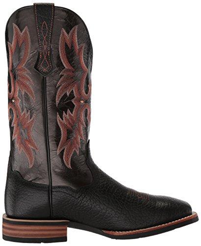 Ariat Mens Tombstone Western Boot Nero / Nero
